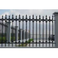 Wholesale Antique Cast Iron Fence Panels / Pedestrian Safety Barrier Fence For Villa Home from china suppliers