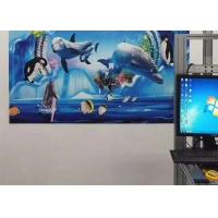 Wholesale 50HZ 720*720DPL 120W 20sqm/h 3D Wall Printing Machine from china suppliers