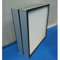 Wholesale Mini Pleated Clean Room HEPA Filters  CE UL FM Certification for food&beverages from china suppliers