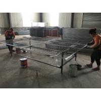 Wholesale chain link temporary fencing panels construction mesh fence panels 6'x12' for sale from china suppliers