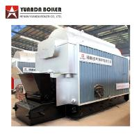 Wholesale DZL Single Drum Coal Fired Steam Boiler 1 Ton For Food Processing Factory from china suppliers
