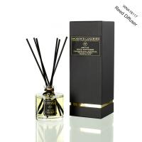 Wholesale Luxury Transparent Round Bottle Home Reed Diffuser with Black Gift Box from china suppliers