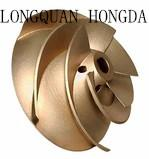 Quality Customized OEM Brass Foundry Castings , Brass Centrifugal Pump Impeller for sale