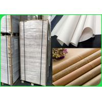 China Width 60 / 90cm Good Ink Absorption No Burrs 45gsm News Paper In Sheet Or Ream for sale