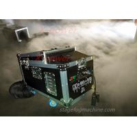 Wholesale 1200 Watt Water Haze Machine Dry Ice Stage Fog Machine With Flight Case X-DI from china suppliers