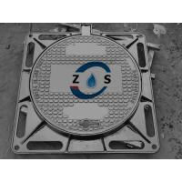 China Dctile iron manhole cover 840x840x100mm  EN124  D400   drain cover, sewer cover on sale