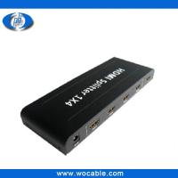 Wholesale HDMI Splitter 1*4 ,Full HD 1080P Support 3D from china suppliers