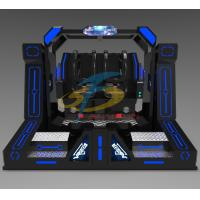 Wholesale Two Seats 9D VR Simulator , Super Pendulum Virtual Reality Game Machine With 720 Degree Rotation from china suppliers