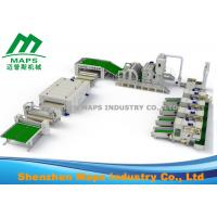 Wholesale Nonwoven Production Line / Automatic Wadding Machine For Quilting Comforter Machine from china suppliers