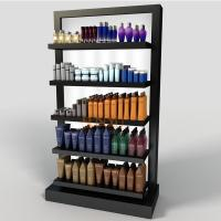 Wholesale Black 5 Tier Display Stand POS Perspex Shelving Display Retail Bath Product Glossy from china suppliers