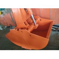 Wholesale Hitachi ZX200-3 Excavator Grab Bucket / Clamshell Grapple Available Various Width from china suppliers