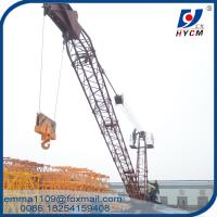 China 10 t Derrick Crane 18 meters Range 150m Height Building Construction Equipment for sale
