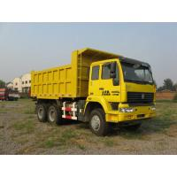 Wholesale Diesel Engine Tri Axle Dump Truck Best Heavy Duty Truck Yellow Color from china suppliers