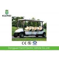 China Battery Operated 6 Seater Electric Golf Carts , Electric Sightseeing Vehicle on sale
