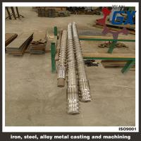 Wholesale cold feeding screw and barrel from china suppliers