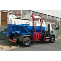 China Leakage Proof Waste Removal Trucks For Garbage Collection And Transportation for sale