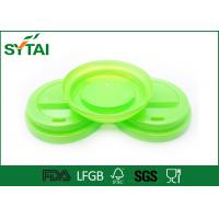 Buy cheap Customized Plastic Coffee Lids For Tea / Beveage Paper Cup , Party Cup Lids FSC from wholesalers