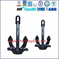 China Hall anchor,bow anchor,marine stockless anchor, Type A B C hall anchor for sale