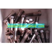 Wholesale inconel 2.4856 fastener bolt nut washer gasket screw from china suppliers
