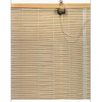 China Woven Wood Bamboo Window Blinds Curtains Brown / Outdoor Roll Up Blinds on sale