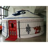 Wholesale Modern Small Mongolian Yurt Tent UV - Resistant With Soft Taffeta Inside Layer from china suppliers
