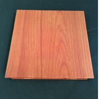 Wholesale Polyester Powder Coated Wooden Decorated Ceiling Tiles 300x300 Or 600x600mm from china suppliers