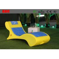Wholesale Leisure Led Outdoor Chaise Lounge Chairs With Rechargeable Lithium Battery from china suppliers