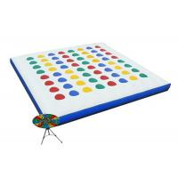 Wholesale Inflatable Interactive Games , Classic Blow Up Twister Game For Kids from china suppliers