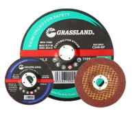 Wholesale 4 In X 1/4 In X 5/8 In Resin Bonded T27 Grinding Wheel For Polishing Stainless Steel from china suppliers