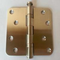 Quality Radius heavy duty 2 bearings stainless steel hinge with Long-term Service for sale