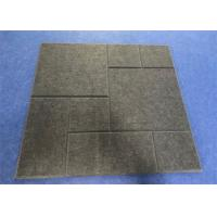 China Eco - Friendly Acoustic Felt Tiles , 600mm*600mm*12mm Sound Reducing Ceiling Tiles on sale