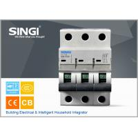 Wholesale SINGI 65A 3VTB 3P 400V  CE certificate slippery container holder mini circuit breaker(MCB) manufacturer from china suppliers
