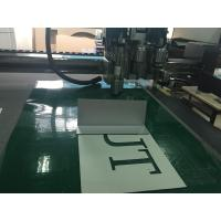 Wholesale Aluminium Plate Sheet Half Die Cutting Router Engraving Machine from china suppliers
