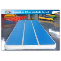 Wholesale Tumble Track Inflatable Air Mat , Inflatable Sports Games Gym Mattress Training from china suppliers
