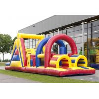Wholesale Fun Popular Inflatable Obstacle Course Bouncy Castles Exciting from china suppliers
