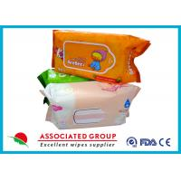 Buy cheap Mix Package Wet Wipe Tissues Baby Skin Care With Plain Spunlace Nonwoven Fabric from wholesalers