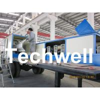 Wholesale 914-610 Mobile K Span Roll Forming Machine for 0.8 - 1.5mm K Span Arched Roof Panel from china suppliers