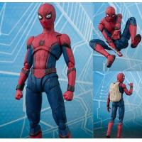 China wholesale   NEW hot 15cm Avengers Spiderman Super hero Spider-Man: Homecoming Action figure toys doll collection on sale