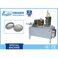 China Stainless Steel Pan Lid Horizontal Rolling Seam Welding Machine WL - FS-50K on sale