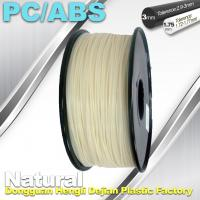 Wholesale High Toughness 1.75mm 3D Printer Filament PC / ABS Filament 1.3Kg / Roll from china suppliers