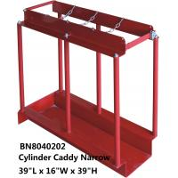 Buy cheap Red In Line Gas Cylinders Caddy Full Steel Structure 39 *16 *39 Inch from wholesalers