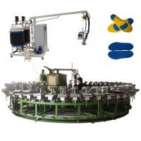 Wholesale Two density two color pu outsole foam injection machine with automatic production line from china suppliers