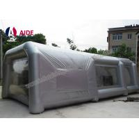 Wholesale Lightweight Double Stitching Inflatable Paint Booth Portable With Ce Blower from china suppliers
