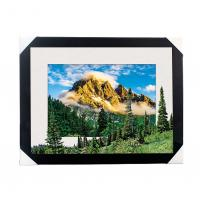 Wholesale Eco-friendly 30x40CM 5D Lenticular Printing Services With PS Black Frame For Home / Hotel from china suppliers