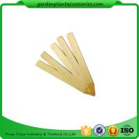 Wholesale Vegetable Bamboo Garden Plant Markers , Natural Wood Garden Stakes from china suppliers