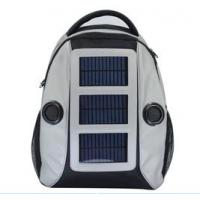 Wholesale factory supply solar bicycle  bag,solar sport bag,backpack from china suppliers