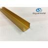 Wholesale Polishing Aluminium Square Floor Strip U Profile Aluminum Trim 6063-T5 from china suppliers