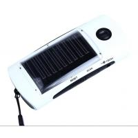 Wholesale solar power Accessories,Solar Power Bank Battery Charger,Universal Solar Power Bank Charger 4-LED Flashlight FM Radio from china suppliers