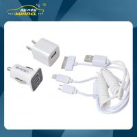 Buy cheap CE Approval Car Power Charger Kit , Home and Car Multiple Use USB Charger from wholesalers