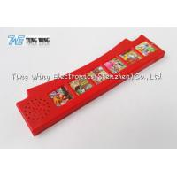Quality Red Six Push Button Sound Module For Button Sound Book As Indoor Educational for sale